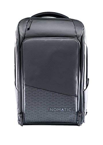 NOMATIC Backpack- Slim Black Water Resistant Anti-Theft 20L Laptop Bag RFID Protected [並行輸入品]