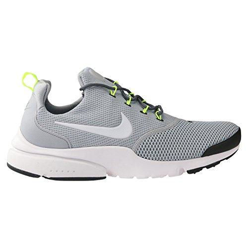 Nike Herren Presto Fly Grau Mesh Sneaker 45,5