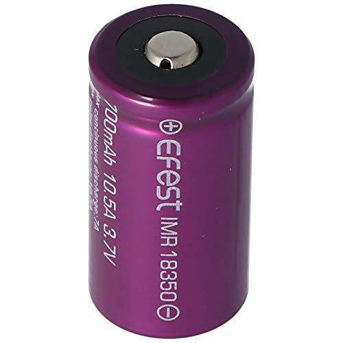 EFEST Purple IMR18350-700mAh 3,7V Li-Ion-Akku (Pluspol erhöht)