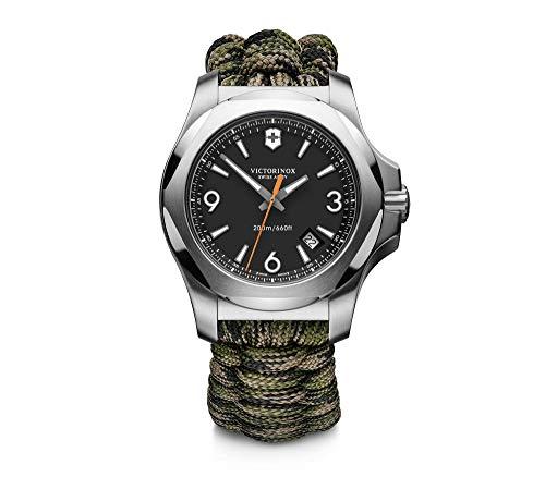 Victorinox Swiss Army 241894 Masculino I.N.O.X. Paracord Relógio com pulseira verde