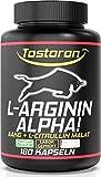 TOSTORON ALPHA - L-ARGININ AKG + CITRULLIN MALAT - 180 Kapseln, 1 Dose (1 x 156,6 g)