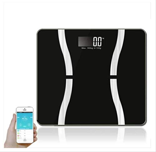 Lowest Prices! Smart Electronic Digital Portable Portable Weight Scale Body Fat Smart Electronic Digital Bluetooth Body Fat Scale Miniature Mini Program,Charging electronic scale ,Household electronic scale Bluetoot