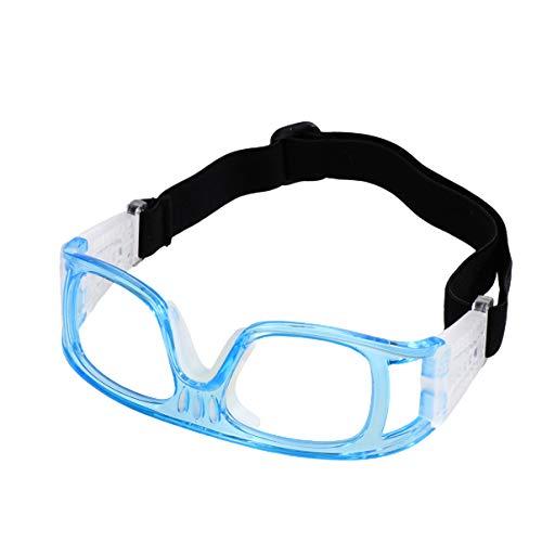 LIOOBO Gafas de Bicicleta a Prueba de Golpes a Prueba de Golpes fútbol fútbol fútbol Gafas Protectoras Baloncesto Gafas Ciclismo Deportes al Aire Libre Gafas de Seguridad (Azul)
