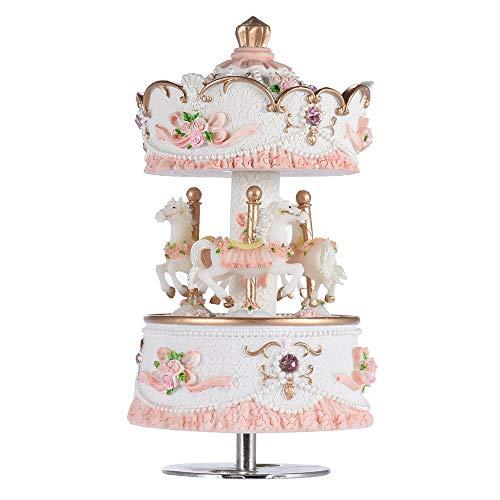 Carrousel De Boîte À Musique, Artware/Gift Melody Castle In The Sky