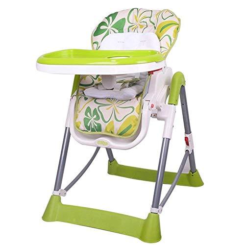 WYJW Baby-eetkamerstoel Multifunctionele stoel Verschuiven Om Opvouwbare Eettafelstoel Kinderklapstoel te eten
