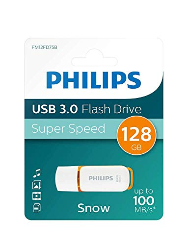 Pen Drive 128 gb USB 3.0 Philips FM12FD75B chiavetta flash drive (128gb) pendrive memoria USB