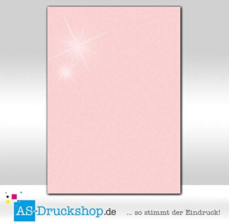 Farbiges Farbiges Farbiges Papier - Ballerina - mit Perlmutt-Glanz   100 Blatt DIN A4   120 g-Papier B07GFQBRT7 | Outlet Online  0e3be0
