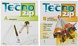 Tecno.zip. Con Mi preparo per l'interrogazione e Tavole per il disegno e la costruzione dei solidi. Per la Scuola media. Con ebook. Con espansione online. Disegno-Settori produttivi (Vol. A-B)