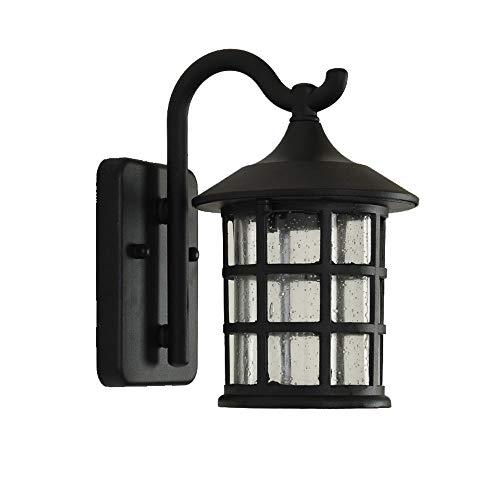 VanMe Antigua Herrería Rústica Lámpara De Pared Exterior