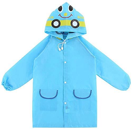 ARRNEW Regenjacke Mantel für Kleinkind Jungen Mädchen - Kinder Regenmantel   Leichte Unisex-Regenmäntel (M)
