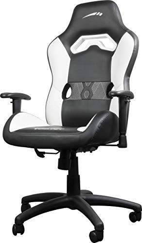 SpeedLink Looter Gaming Chair, Black-White, Negro/Blanco, Medidas: 64 × 68 × 114-122cm (An x F x Al)