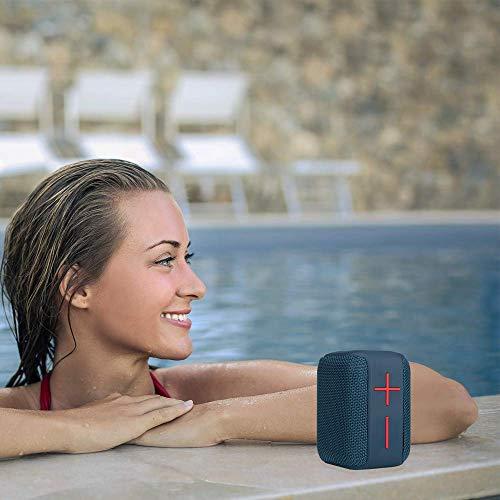 NGS Altavoz PORTÁTIL Roller Coaster Blue 10W Compatible con TECNOLOGÍA Bluetooth Y...