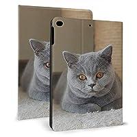 IPad ケース 猫動物ペット フリップカバー タブレット保護ケース 耐衝撃 ホルスター 保護カバー 自動ウェイクアップ/オートスリープ