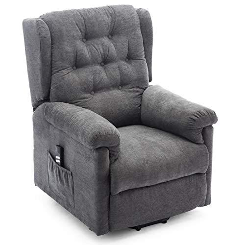 Barnsley Dual Motor Electric Riser Recliner Chair Fabric