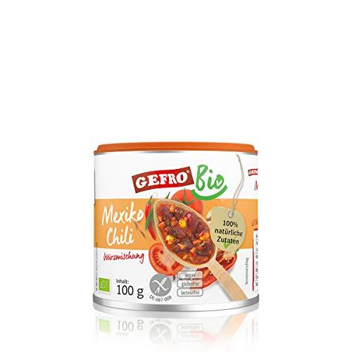 GEFRO BIO Mexiko Chili zum Würzen und Verfeinern von Rohkost, Suppen und Salat (100g)