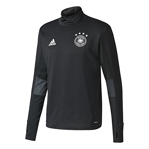 adidas DFB TRG Top Sudadera Entrenamiento Federación Alemana de Fútbol, Hombre, Negro (Negro/Blanco), 3XL