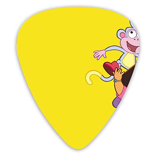 Dora The Explorer - Púas para guitarra (12 unidades, apta para guitarras...