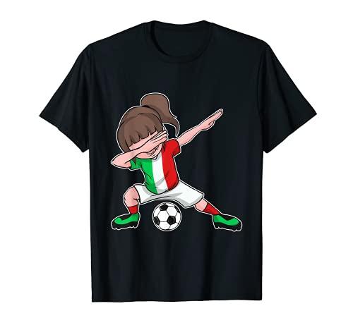Italien Trikot Fußball Mädchen - italienische Flagge T-Shirt