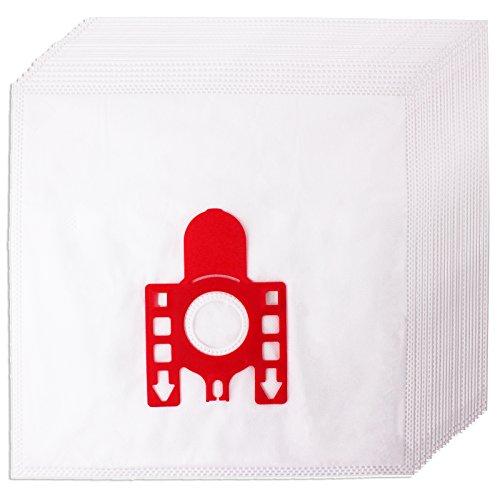Spares2go FJM Hyclean stofzuigerzakken voor Miele-stofzuiger (4, 8, 12 of 20 zakken plus filter en luchtverfrisser). 20 Bags