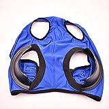 Smile Diary - Maschera per volare per cavalli, antivento, maschera per gli occhi con rete anti tracoma, con protezione UV, colore: blu