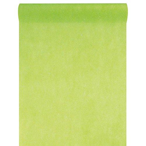 Santex NEU Tischläufer grün, 30cm x 10m