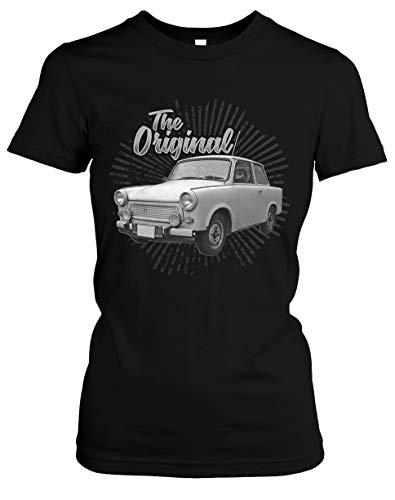 Trabant Damen T-Shirt | DDR Nostalgie Ossi 600 601 Kübel Trabi Oldtimer Girlie | M3 (S)