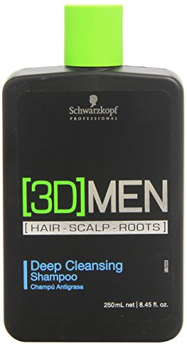 #2 | Schwarzkopf Professional 3D Mension Champú Antigrasa – 250 ml