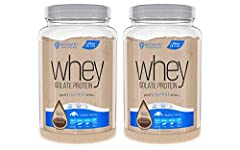 100% Whey Isolate Protein Artificial Color & Sweetener free Gluten Free Low Sodium OU Kosher Certified