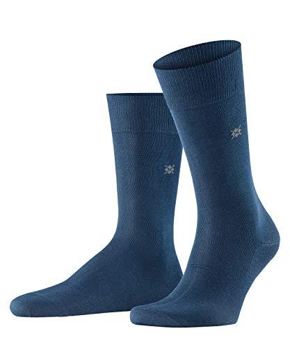 Burlington Herren Dublin M SO Socken, Blickdicht, Blau (Marine 6120), 40-46 (UK 6.5-11 Ι US 7.5-12)
