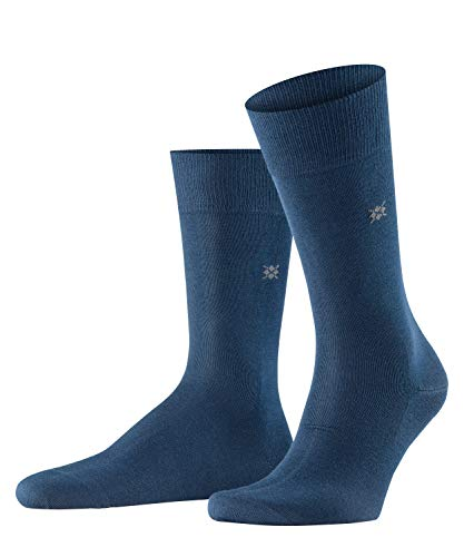 Burlington Herren Dublin M SO Socken, Blickdicht, Blau (Marine 6120), 40-46 (UK 6.5-11 Ι US 7.5-12)