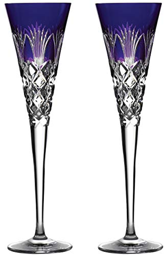 Waterford 2020 Times Square Flute Pair Ultra Violet