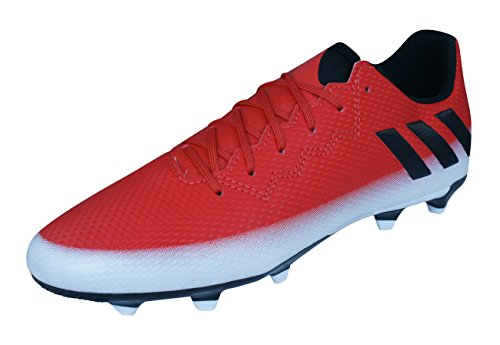 adidas Unisex Messi 16.3 FG Stiefel, Rot (Red/core Black/FTWR White), 37 1/3 EU