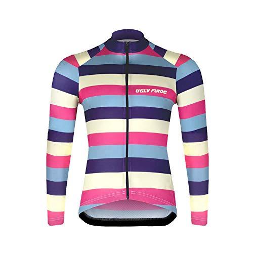 UGLY FROG UFST03 Neu Herren Radsport Rennrad Trikot Sportbekleidung für Radsport Kleidung Winter Thermal Fleece Warm Fahrradjacke