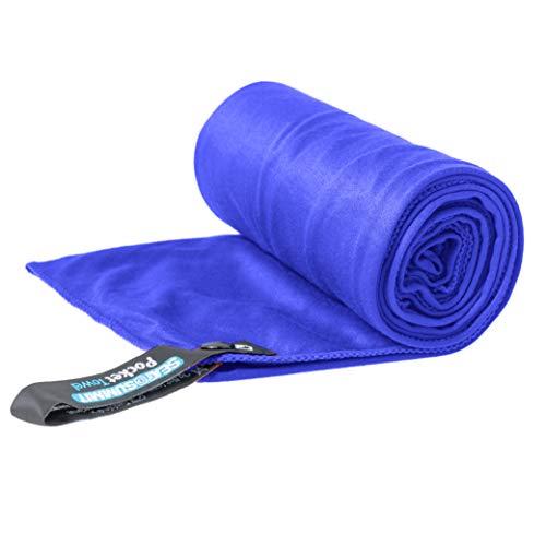 Sea to Summit Pocket Towel S Handtuch, Bergsteigen und Trekking, Unisex, Erwachsene, Damen, Damen Herren, APOCTSC, Kobaltblau, Normal