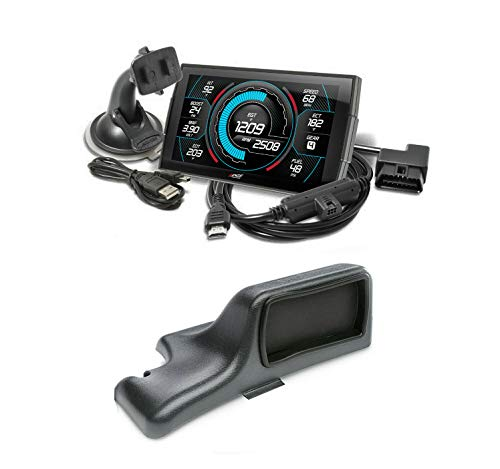 Edge Products Insight CTS3 Touch Screen Gauge Monitor 84130-3 & Dash Pod 28500 Compatible with 2001-2007 Chevy Silverado/GMC Sierra 6.6L LB7/LLY/LBZ Duramax Diesel 2500HD 3500HD