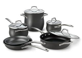 Calphalon Unison Nonstick 10-Piece Cookware Set (B0028S7R58) | Amazon price tracker / tracking, Amazon price history charts, Amazon price watches, Amazon price drop alerts