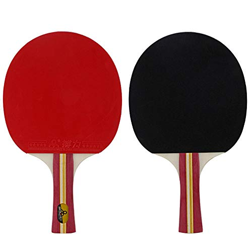 Best Review Of HEXL Ping Pong Paddle/Table Tennis Racket 2 Player Set,Professional Set 3 Table Ten...