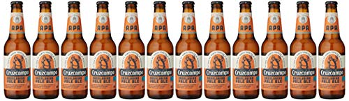 Andalusian Pale Ale Beer Cruzcampo - Package of 12 x 330 ml - Total: 3960 ml
