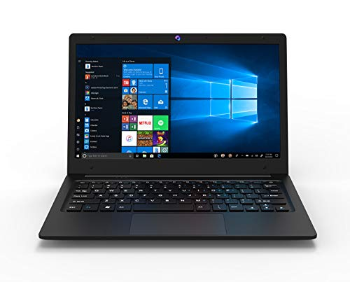 iOTA Flo 11.6-Inch Laptop (Black) - (Intel Celeron, 4GB RAM, 32GB eMMC Storage, Windows 10 Home) - Amazon Exclusive