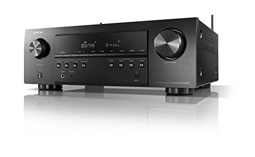 Denon AVR-S640H Audio Video Receiver - 5.2 Channel 4K Ultra HD Home Theater and Music Streaming System | Wi-Fi, Bluetooth, Airplay, Alexa, HEOS