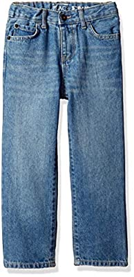 The Children's Place Baby Boys Straight Leg Jeans, Carbon WSH 5866, 5T by The Children's Place