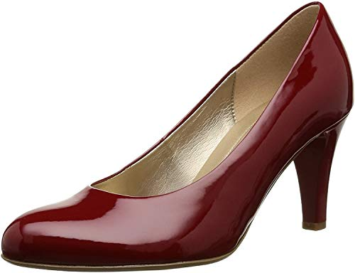 Gabor 35-210-77, Damen Pumps, Rot (cherry), 38 EU ( 5 UK )