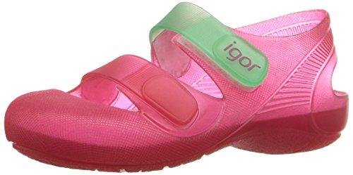 Zapatillas de Agua para niña con Velcro Modelo Bondi Bicolor, de Igor - Rosa, 20