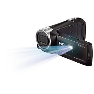 Sony HDR-PJ410 Full HD Camcorder (30-fach opt. Zoom, 60x Klarbild-Zoom, Weitwinkel mit 26,8 mm, Optical Steady Shot) schwarz