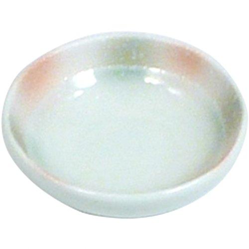 小鉢 : 有田焼 赤グリーン吹白たたき フルーツ用トンスイ