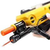 Insect Salt Gun Laser Bug-Beam for Bug Salt 2.0 and 3.0, Insect Eradication Airsoft BB Pump Add-On Accessories