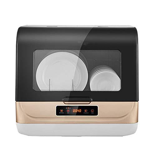 Mini Geschirrspüler 900w Multifunktionaler Tischgeschirrspüler Eignet Sich Zum Abwaschen Von Geschirr Oder Zum Aufbewahren Verschiedener Geschirrteile in Familienküchen (Golden)