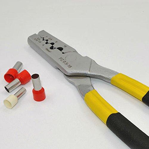 0.5-16 mm2 Mini Duitsland stijl krimpen tang en gereedschap voor kabel einde mouwen PZ0.5-16