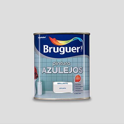 Bruguer Esmalte para Azulejos Brillante Gris Perla 750 ml