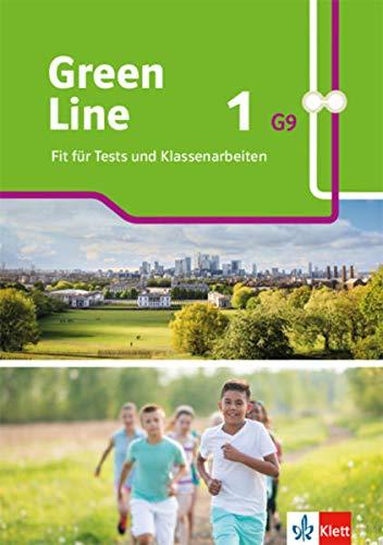 Green Line 1 G9: Fit für Tests und Klassenarbeiten mit Lösungen und Mediensammlung Klasse 5 (Green Line G9. Ausgabe ab 2019)